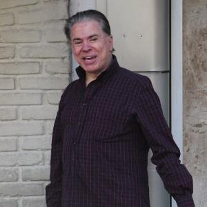 Silvio Santos, que mudou novamente a cor dos cabelos (21/3/12)