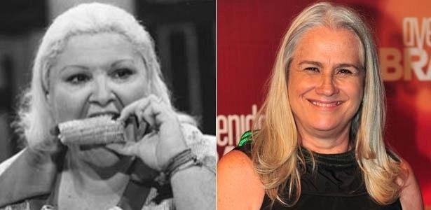 Da esquerda para a direita, as atrizes Wilza Carla e Vera Holtz