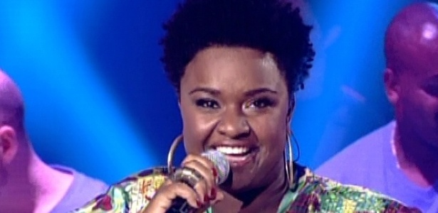 "16.dez.2012 - Ellen Oléria canta ""Taj Mahal"", de Jorge Ben Jor, na final do ""The Voice Brasil"""