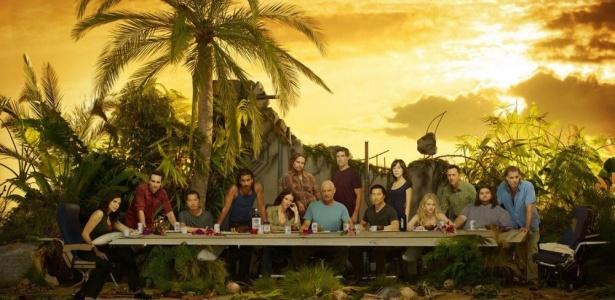 Poster da sexta temporada de Lost