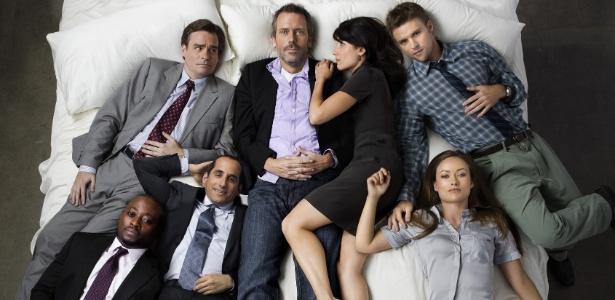 """Elenco de """"House"""" na sétima temporada da série (set/2010)"""