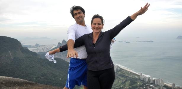 """Zeca Camargo e Renata Ceribelli encantam-se com a Pedra Bonita no """"Medida Certa"""" (19/6/2011)"""