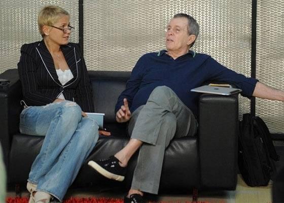 Xuxa se reuniu com o diretor Daniel Filho no início de agosto para discutir sua participação na série As Brasileiras