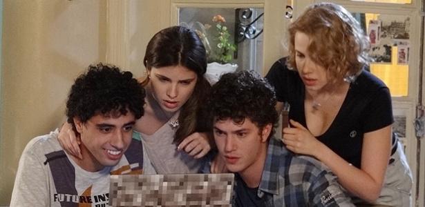 """Cena da atual temporada de """"Malhação"""", que começou com formato de suspense, mas foi modificada"""