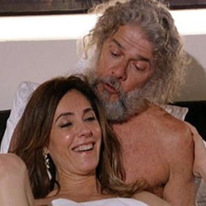 Tereza Cristina termina fugindo com Pereirinha em meio a tempestade