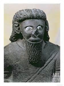 king-hadad, from palace at tell-halaf, siria