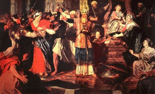 athaliah's death
