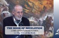 1.1 The Title of the Book – THE GOSPEL FROM PATMOS | Pastor Kurt Piesslinger, M.A.