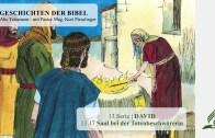 13.17 Saul bei der Totenbeschwörerin x
