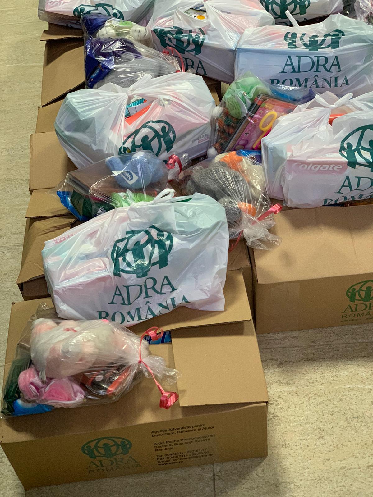 """692 persoane primesc ajutor în cadrul proiectului ADRA """"Sprijin umanitar COVID-19"""""""