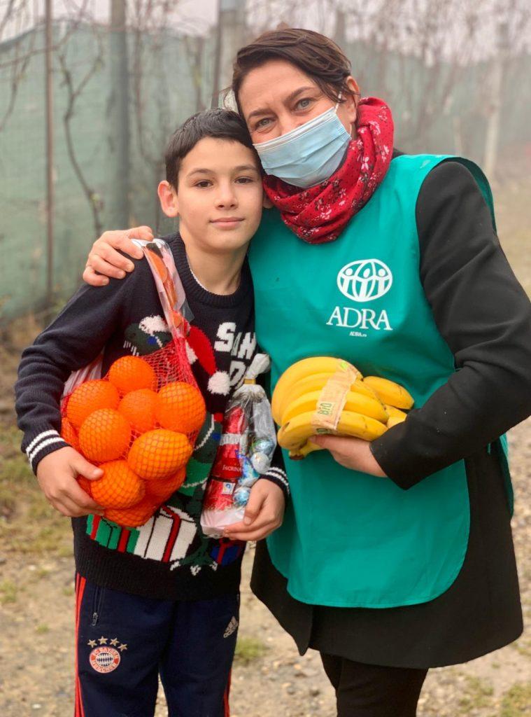 """6.311 de persoane primesc ajutor în cea de-a 45-a săptămână de implementare a proiectului ADRA """"Sprijin Umanitar COVID-19"""""""