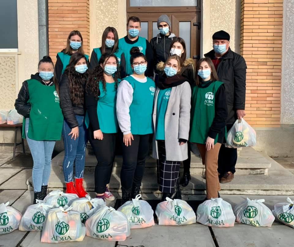 """2.632 de persoane primesc ajutor în cea de-a 44-a săptămână de implementare a proiectului ADRA """"Sprijin Umanitar COVID-19"""""""
