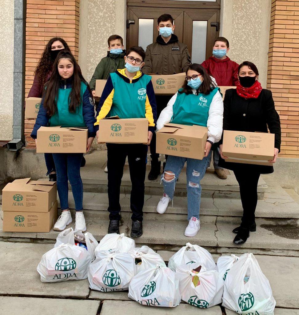 """855 de persoane primesc ajutor în cea de-a 48-a săptămână de implementare a proiectului ADRA """"Sprijin Umanitar COVID-19"""""""