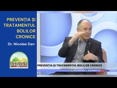 PREVENȚIA și TRATAMENTUL Bolilor Cronice | Dr