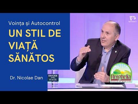 UN STIL DE VIAȚĂ SĂNĂTOS: Voința și Autocontrol | Sănătatea Este Importantă | Dr