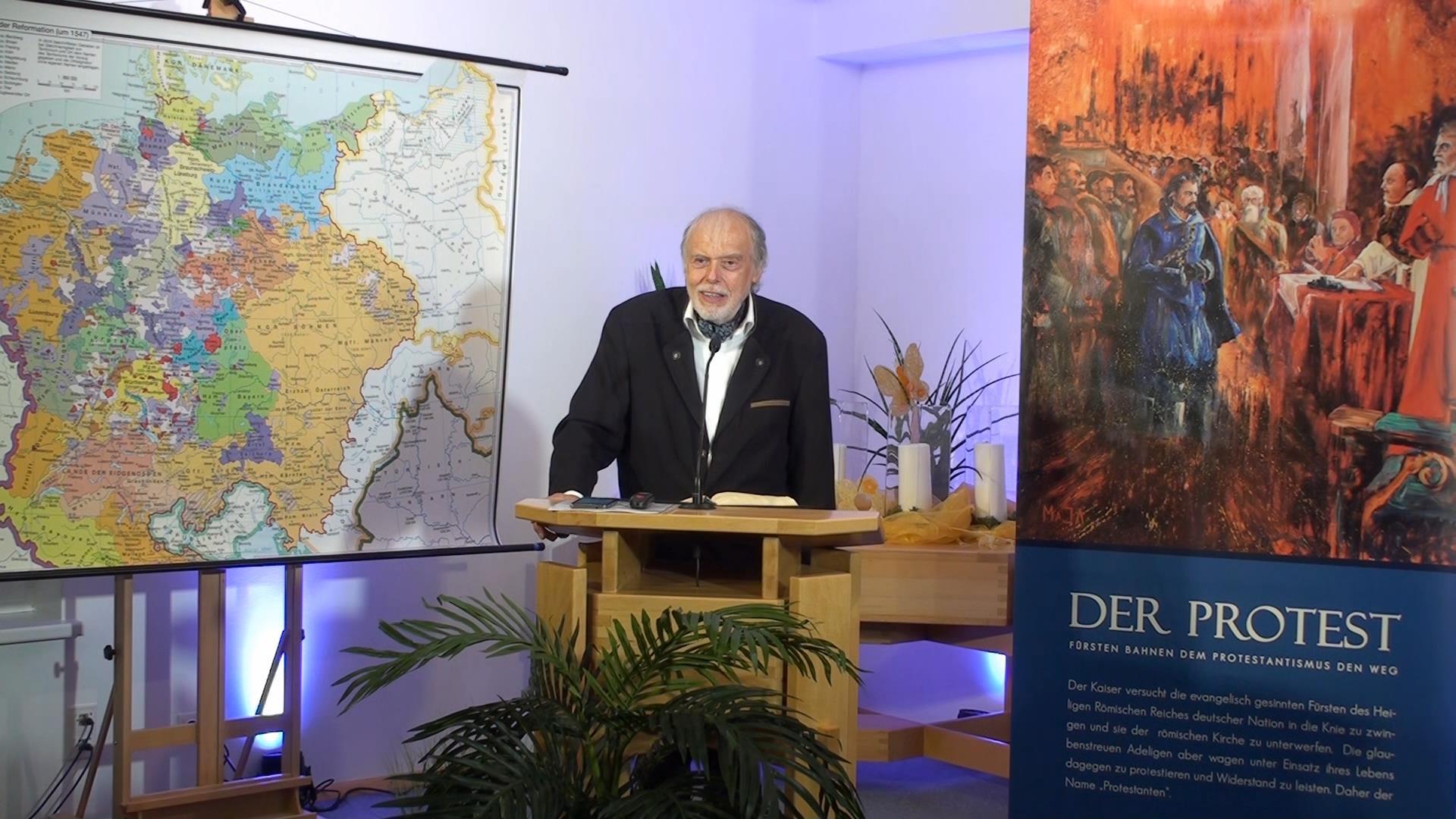 ERDBEBEN IM VATIKAN: 4.Der Protest der Fürsten | Pastor Mag. Kurt Piesslinger
