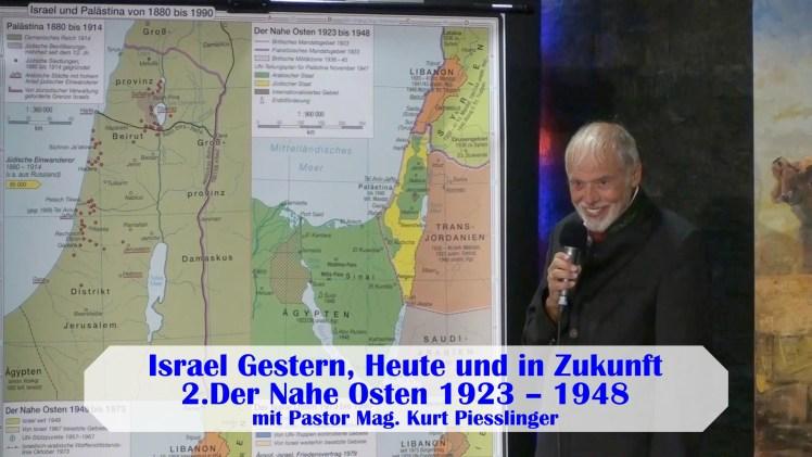 Israel Gestern, Heute und in Zukunft 2