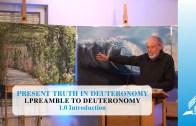 1.0 Introduction – PREAMBLE TO DEUTERONOMY | Pastor Kurt Piesslinger, M.A.