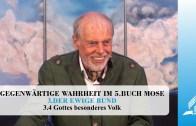 3.4 Gottes besonderes Volk – DER EWIGE BUND | Pastor Mag. Kurt Piesslinger