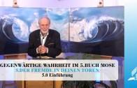 5.0 Einführung – DER FREMDE IN DEINEN TOREN | Pastor Mag. Kurt Piesslinger