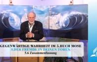 5.6 Zusammenfassung – DER FREMDE IN DEINEN TOREN   Pastor Mag. Kurt Piesslinger