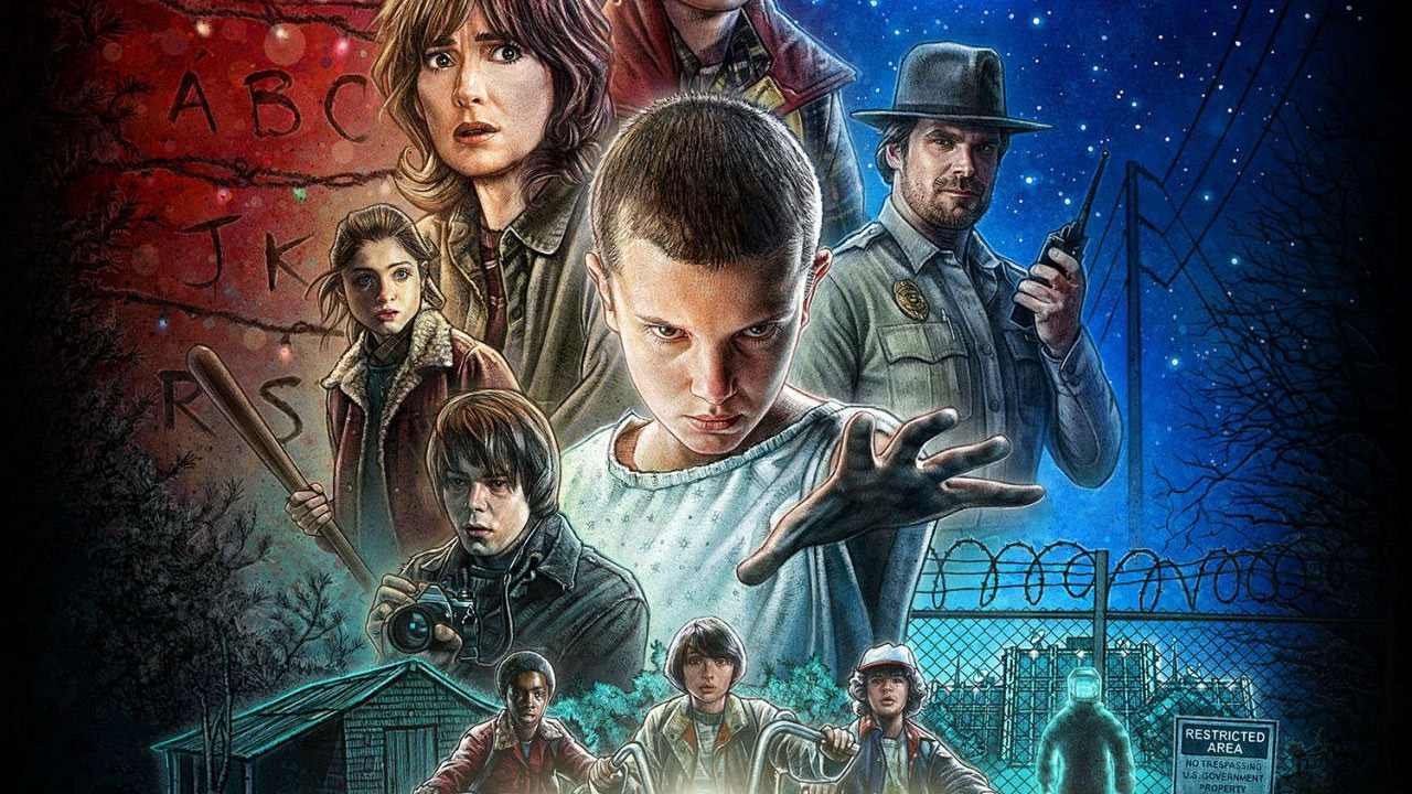 Stranger Things – NETFLIX – 2016