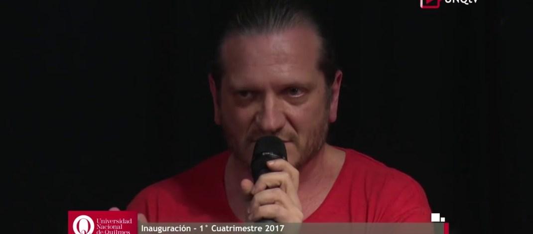 """Darío Sztajnszrajber. Charla magistral: """"El Conocimiento"""""""