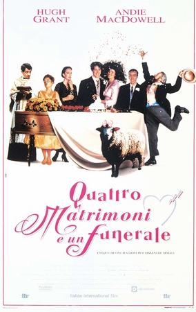 Quattro matrimoni e un funerale Stasera su Rai 3