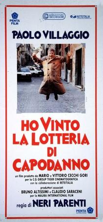 Ho vinto la lotteria di capodanno Stasera su Italia 2