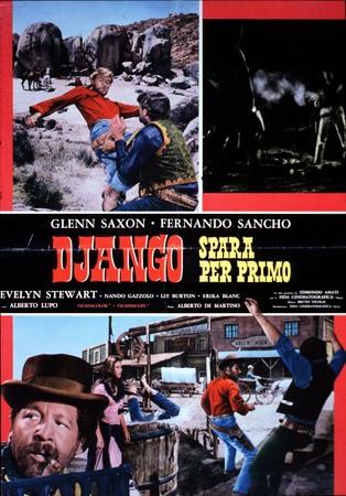 Django spara per primo Stasera su Iris