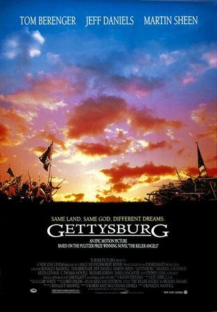 Gettysburg Stasera su Rai Movie