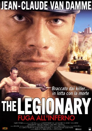 The Legionary - Fuga all'Inferno Stasera su Deejay Tv Nove