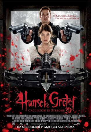 Hansel e Gretel - Cacciatori di Streghe Stasera su Rai 4