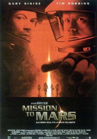 Mission to mars Stasera su Iris
