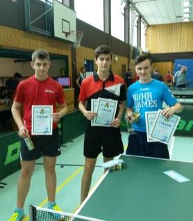 Siegerehrung Jugend bis 3000 Punkte
