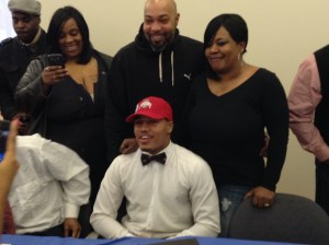 Marshon Lattimore, Glenville Defensive Back heading to The Ohio State University.