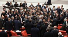 """Meclis'te sert kavga: """"Şehit paralarının üzerine oturmayın"""""""