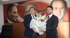 Mehmet Ay'dan MHP'ye ziyaret