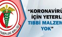 Türk Tabipleri Birliği'nden flaş koronavirüs açıklaması!