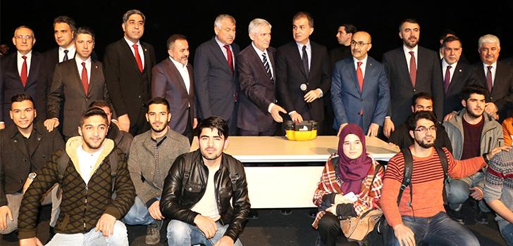 Ömer Çelik'ten Adana ziyareti