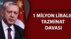 CHP'li Özkoç hakkında suç duyurusu!