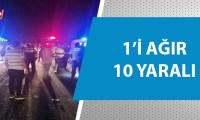 Adana Kozan karayolunda feci kaza