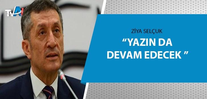 Bakan Selçuk'tan 'EBA TV' açıklaması