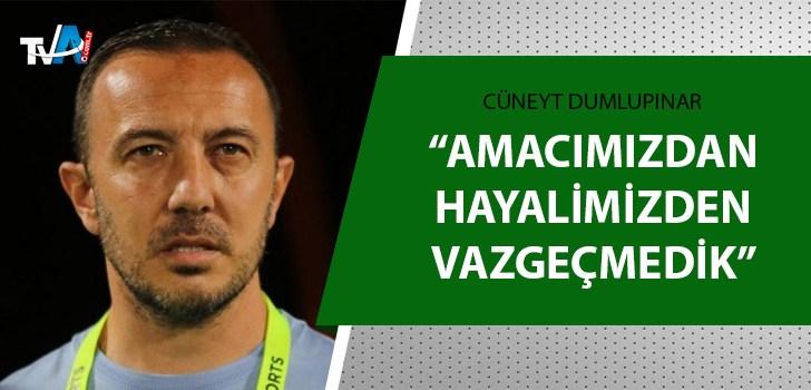 Adana Demirspor Teknik Direktörü Dumlupınar açıkladı