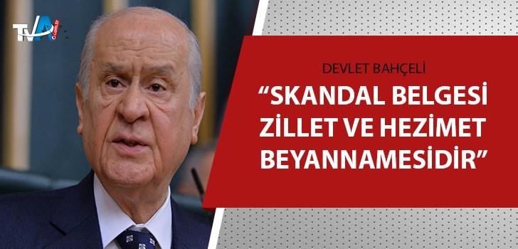 MHP Lideri Bahçeli'den Kılıçdaroğluna sert eleştiri!