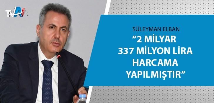 Adana Valisi Süleyman Elban açıkladı