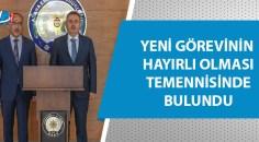 Vali Elban'dan İl Emniyet Müdürü İnci'ye Ziyaret