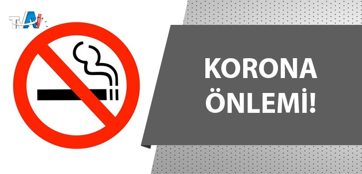Halka açık alanda sigara içmek yasaklandı!