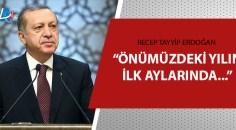 Erdoğan'dan Kabine Toplantısı sonrası açıklamalar