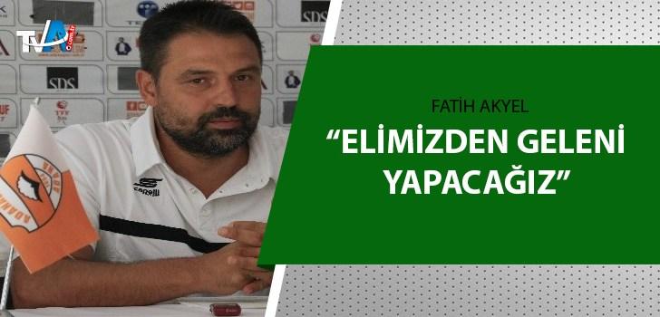 Adanaspor Teknik Direktörü Fatih Akyel açıkladı!